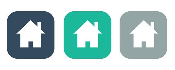 Home icon,Vector illustration