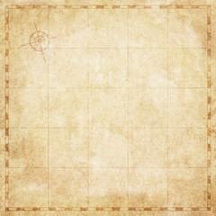 Old vintage map, blank