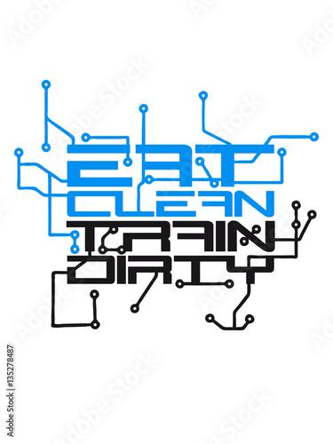 Nerd geek techno circuit weight spoof cool text logo design