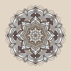 Mandalas. Vintage circle decorative elements.