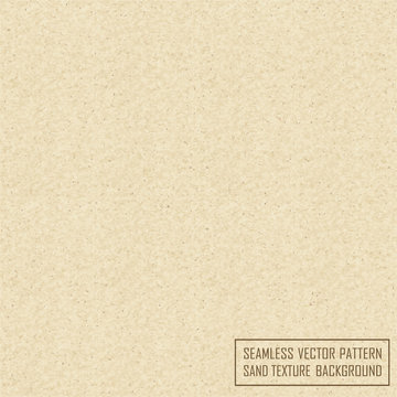 Vector seamless sand texture background