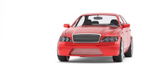 Brandless Generic Red Car