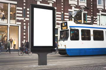 Digital outdoor advertising screen