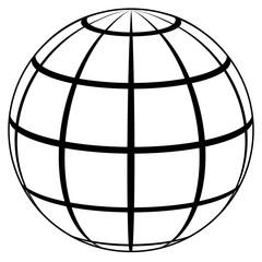 globe planet icon high quality