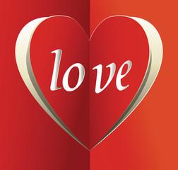 Valentines love background