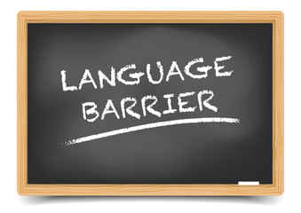 Blackboard Language Barrier