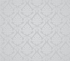 Damask background white