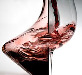 Weingenuss - Weinglass und Dekanter