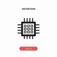 circuit board technology vector icon