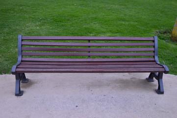 En un banco del parque