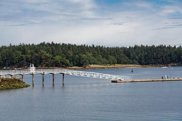 White Wood Pier in Nanaimo