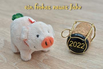 ein frohes neues Jahr 2022