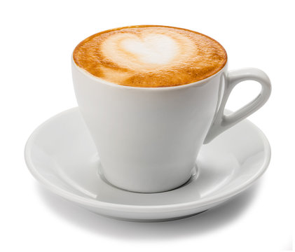 Cappuccino. Cup of ñappuccino ñoffee