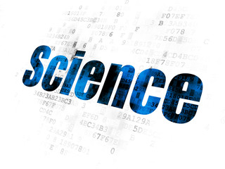 Science concept: Science on Digital background