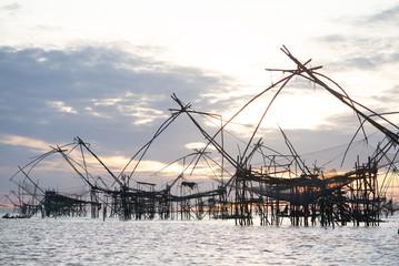 rural fisherman farm thailand