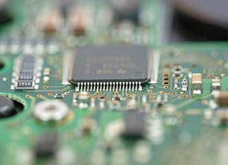 Mikrochip, Leiterplatte, Platine