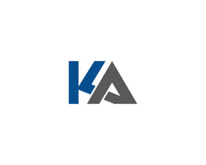 Letter K and A Logo 2