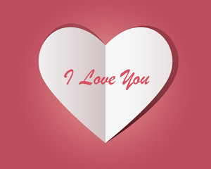 3 words, a lot of emotions. Beautiful Valentine