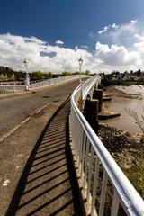 The Old Wye Bridge or Town Bridge at Chepstow