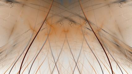 Fantastische Symmetrie - sepia