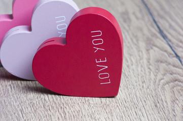 Valentine's day - Three Hearts