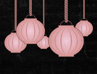 nice oriental lamp illustration