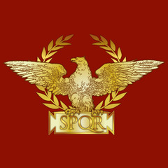 Roman Empire coat of arms