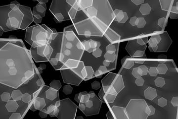 Graphene - Nanomaterials - Abstract Background