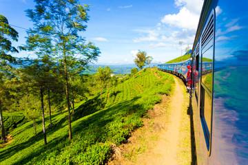 Sri Lanka Tea Plantation Hill Country Train Ride H