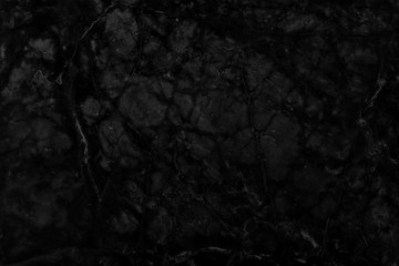 Abstract  black marble texture background.