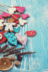 Gingerbreads for Valentines Day