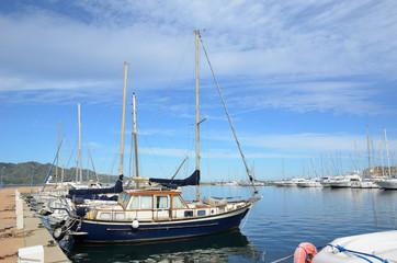 Corsican port Saint-Florent