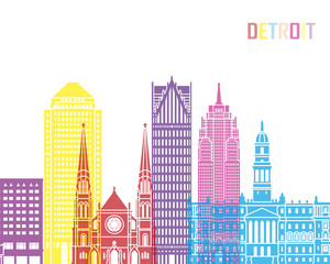 Detroit_V2 skyline pop