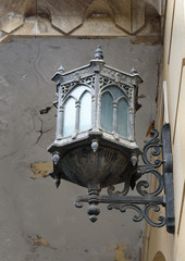 Old lamp on the street