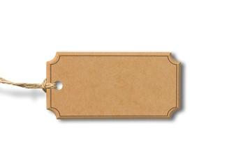 Karton - Label Anhänger
