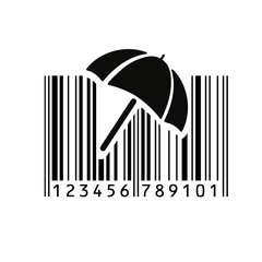 Barcode. Vector illustration.