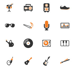 Disco Or Club icons set