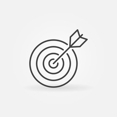 Target line icon