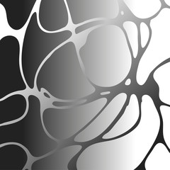 Neirographic pattern. wave line hand drawn backgraund. Graphic design elements.