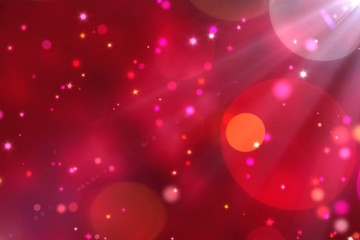 gradient red ruby background with bokeh light