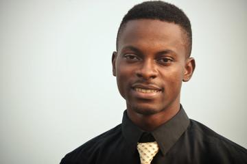 Young ghanaian man