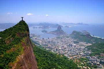 General aerial view of Rio de Janeiro, Brazil