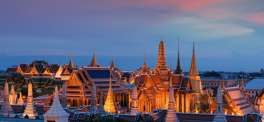 Temple of the Emerald Buddha (Wat Phra Kaew), Bangkok, Thailand