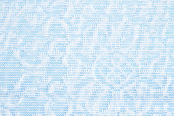 Blue and white lace background