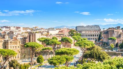 Cityscape of Rome, Italy Fototapete