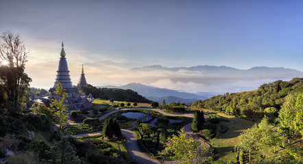 Doi Inthanon, Chiang Mai, Thailand .