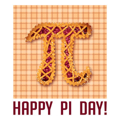 Happy Pi Day! Celebrate Pi Day. Mathematical constant. March 14t