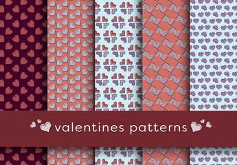 Valentine's Day Patterns Pack