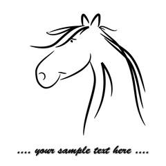 friendly horse 01