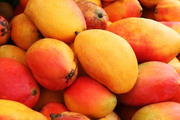 cesta de mangos